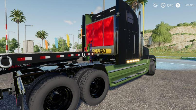 Мод Kentucky Derby-Freightliner Classic v 1.0 для Farming Simulator 2019