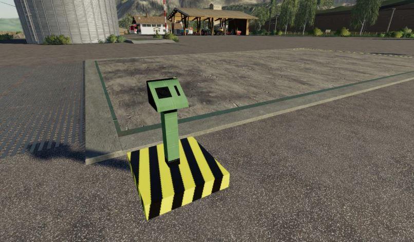 Мод Hydraulic loading ramp v 1.0 для Farming Simulator 2019