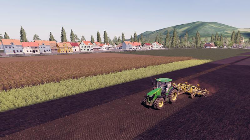 Мод Карта Valley by dawiiid0o7 v 1.2 для Farming Simulator 2019