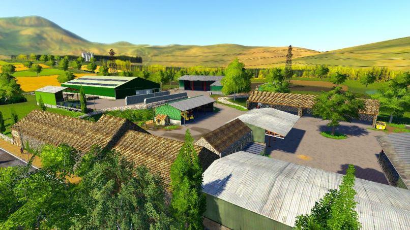 Мод Карта Belgique Profonde pour Multi v 1.2.0.1 для Farming Simulator 2019