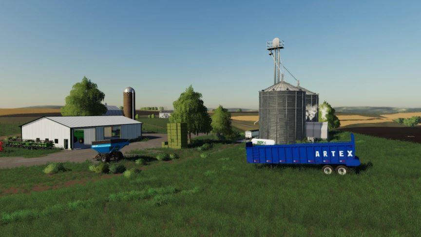 Мод Карта Rolling Hills v 01  для Farming Simulator 2019