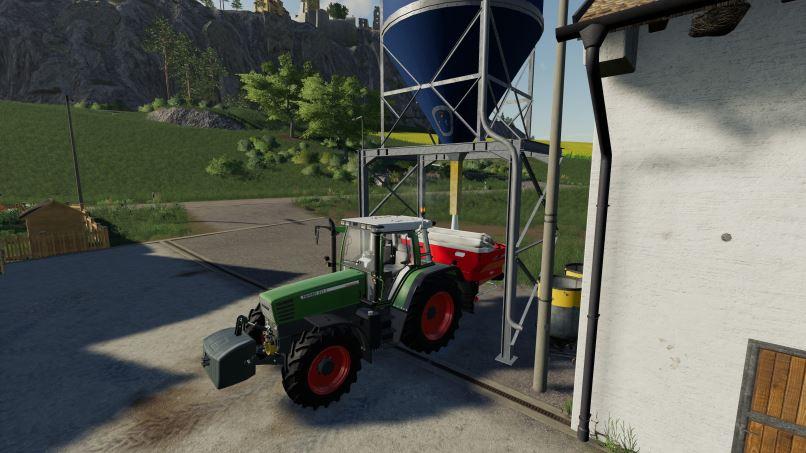 Мод Placable fertilizer silo v 1.0 для Farming Simulator 2019