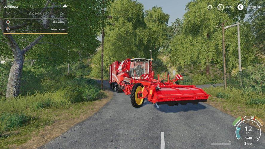 Мод Grimme Varitron 470 potato harvester by Stevie для Farming Simulator 2019