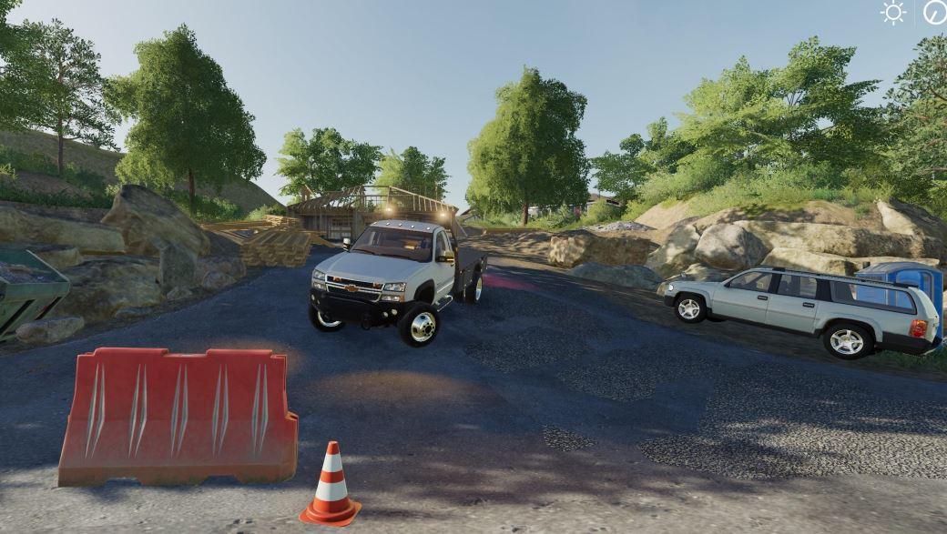 Мод Chevrolet 2500 duramax 2006 w/strobes v 1.0.0.1 для Farming Simulator 2019