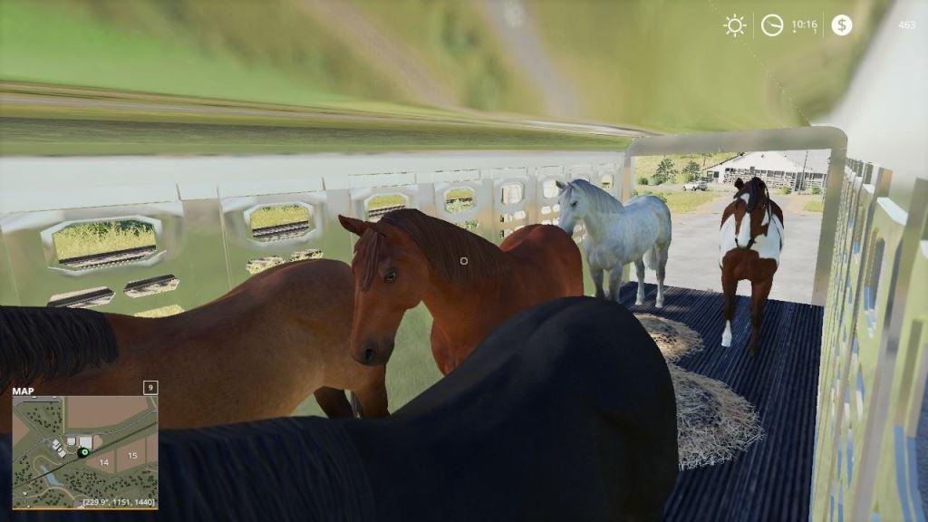 Мод Wilson Ranch Hand Livestock trailer v 1.0 для Farming Simulator 2019