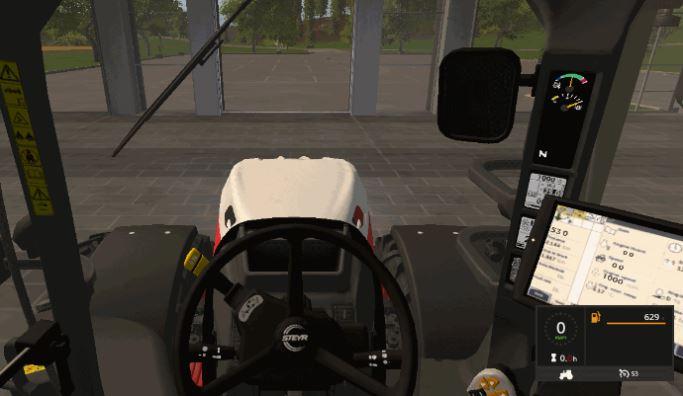 Мод Steyr Terrus 6770 CVT v 1.0 для Farming Simulator 2017