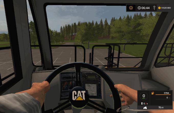 Мод Caterpillar 797B v 1.2 для Farming Simulator 2017