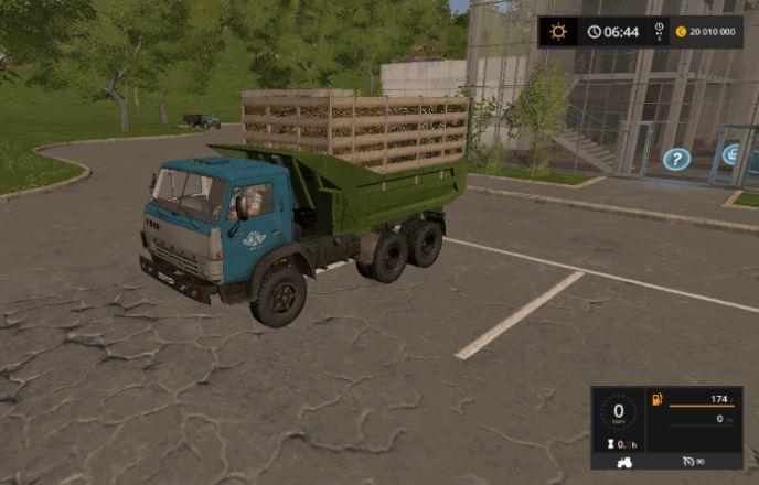 Мод KамA3-5511 v 1.1 для Farming Simulator 2017