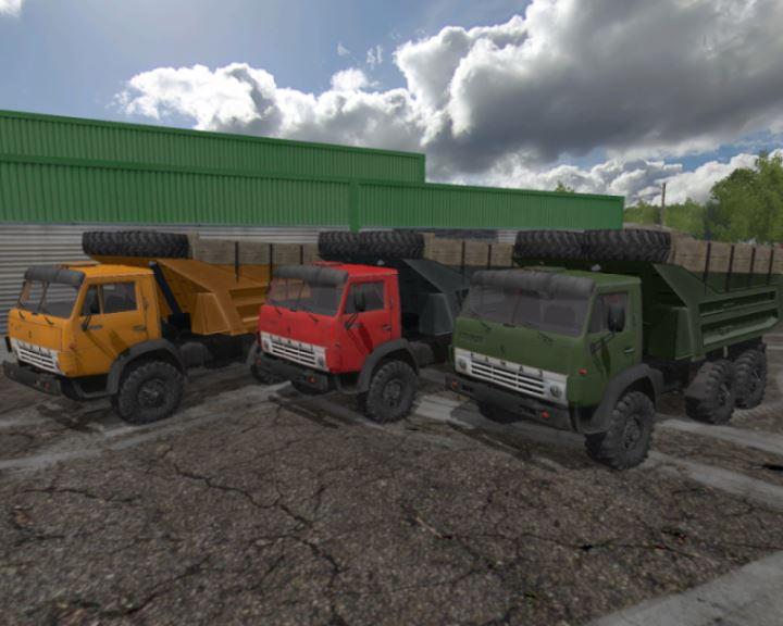 Мод MR Камаз-43101 6x6 для Farming Simulator 2017
