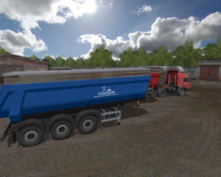 Мод Тонар 40Т v 1.3 для Farming Simulator 2017