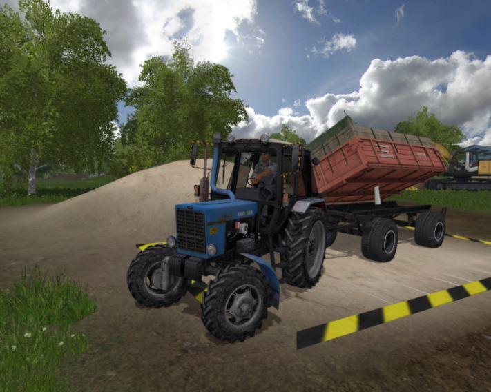 Мод Прицеп ПТС-6 для Farming Simulator 2017