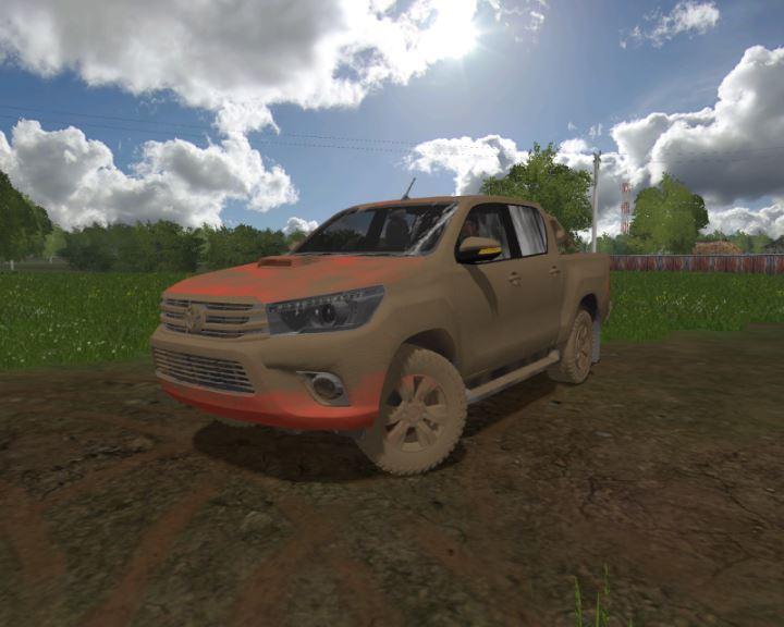 Мод Toyota Hilux v 1.1 для Farming Simulator 2017