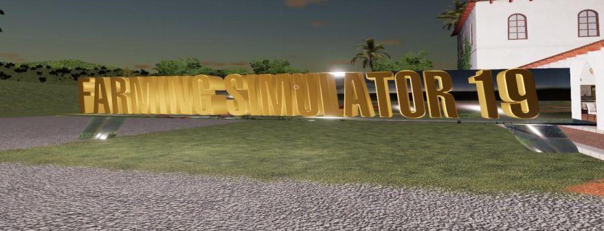 Мод Знаки Signs v 1.0 для Farming Simulator 2019