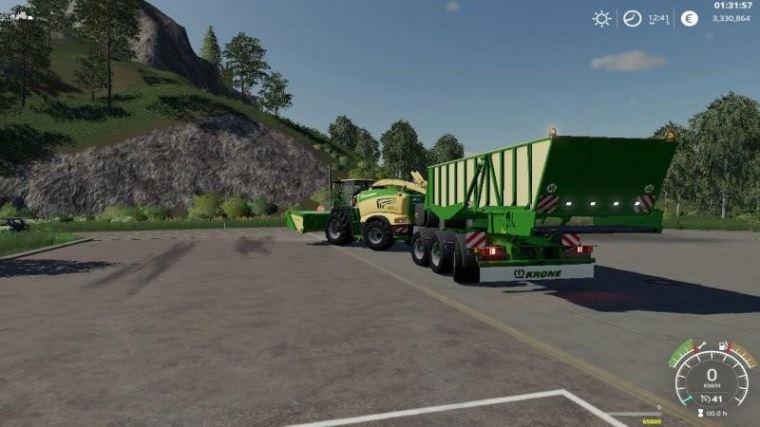 Мод Krone Cargo v 1.0.0.1 для Farming Simulator 2019