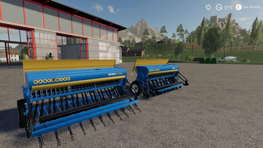 Мод Rabe MultiDrill M300A v 1.0 для Farming Simulator 2019