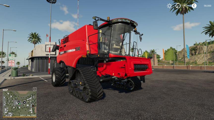 Мод CaseIH 240 set v 1.0 для Farming Simulator 2019