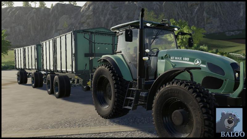 Мод TKD-302 with color choice v 2.0 для Farming Simulator 2019