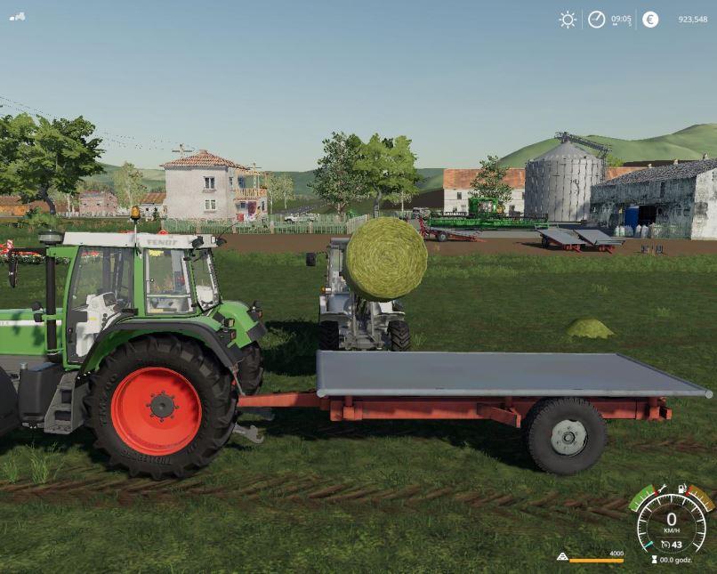 Мод Przyczepa samorobka v 1.0 для Farming Simulator 2019