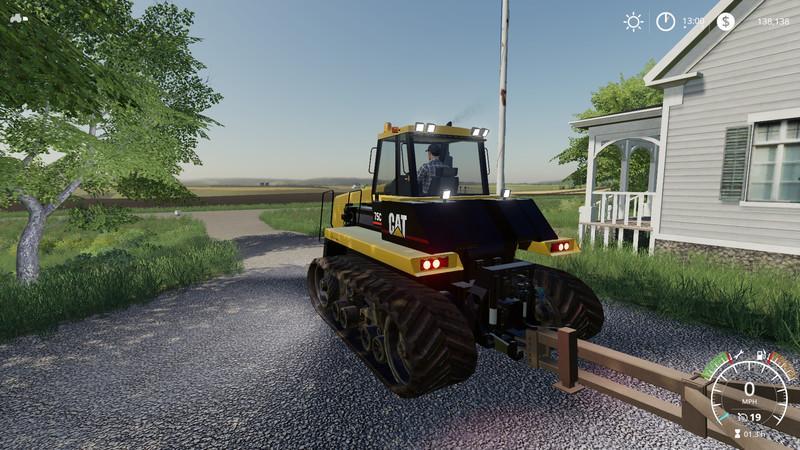 Мод Cat Challenger 75C v 1.0 для Farming Simulator 2019