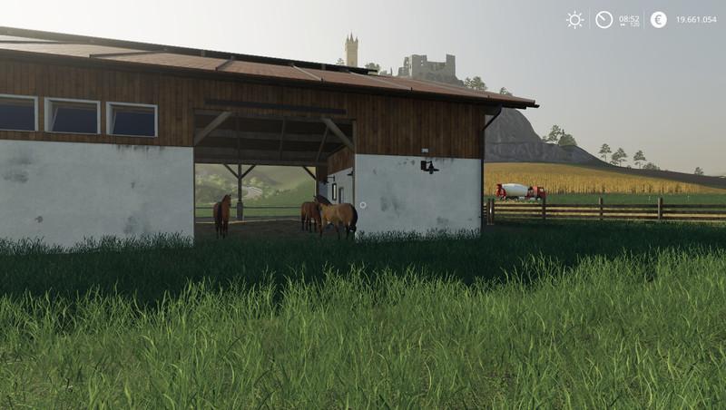 Мод Stable v 1.2 для Farming Simulator 2019