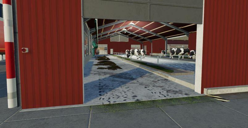 Мод Large Cow Pasture v 1.3 для Farming Simulator 2019