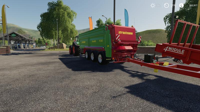 Мод Strautmann PS3401 v 1.0 для Farming Simulator 2019