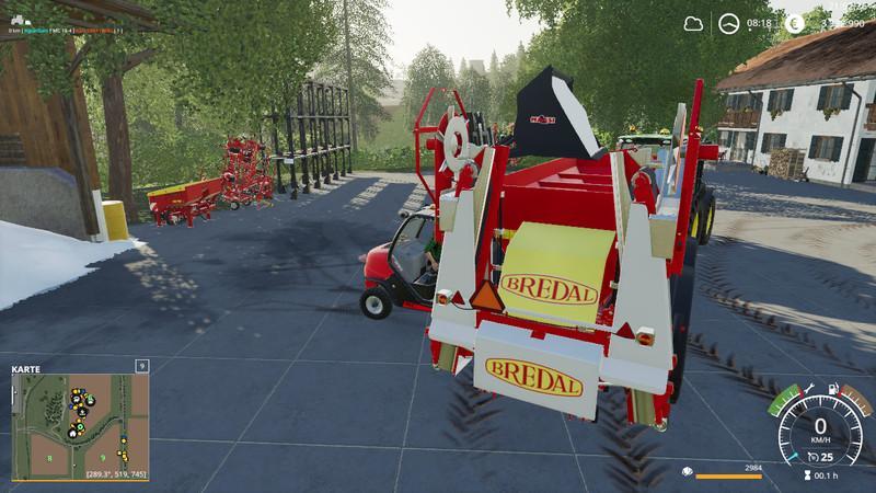 Мод Forklift / stacker bucket set v 2.0 для Farming Simulator 2019
