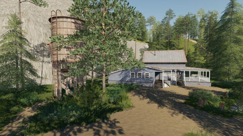 Мод Карта Boulder Canyon Logging Map v 1.1 для Farming Simulator 2019