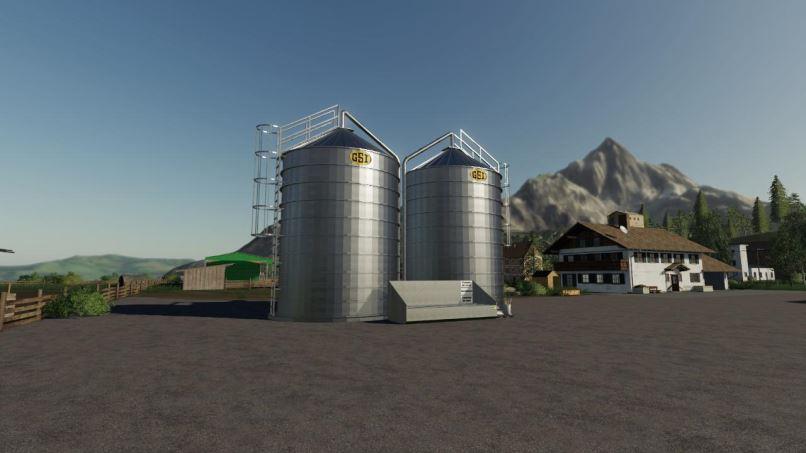 Мод Silo GSI v 1.0 для Farming Simulator 2019