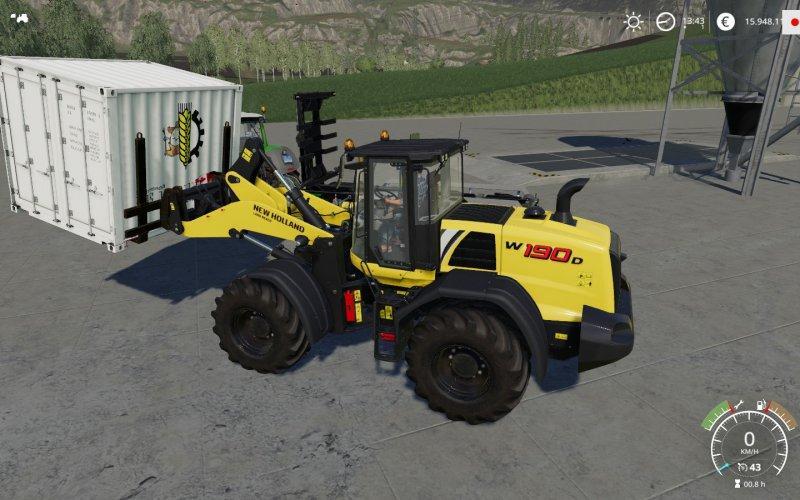 Мод ATC Container Handling Pack v 1.0.1.0 для Farming Simulator 2019