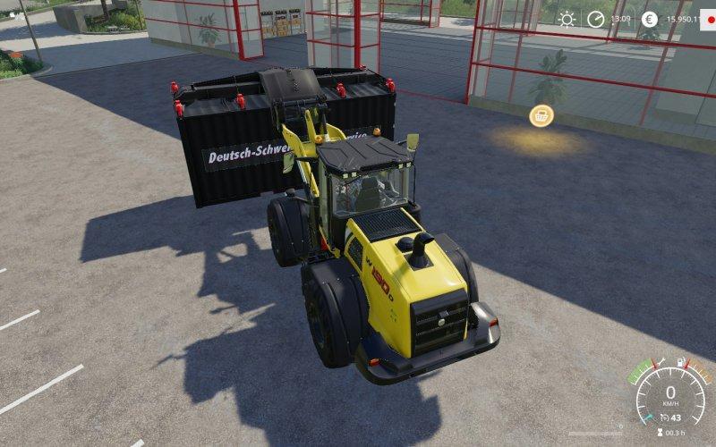 Мод ATC Container Handling Pack v 1.0.2 для Farming Simulator 2019