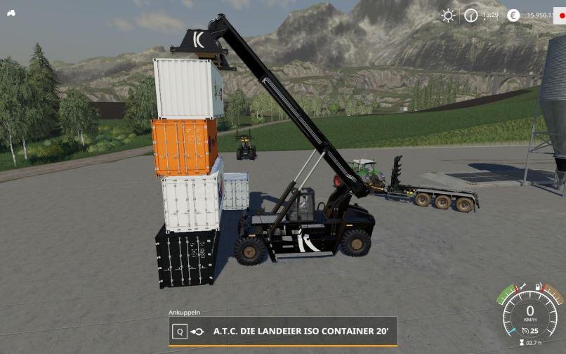 Мод Kalmar DRF450-60S5 v 1.0.0.2 для Farming Simulator 2019