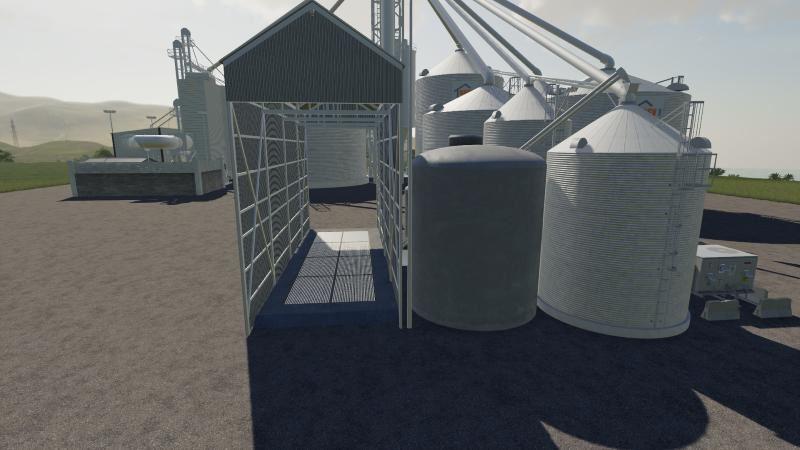 Мод BigSilo v 1.0 Beta для Farming Simulator 2019