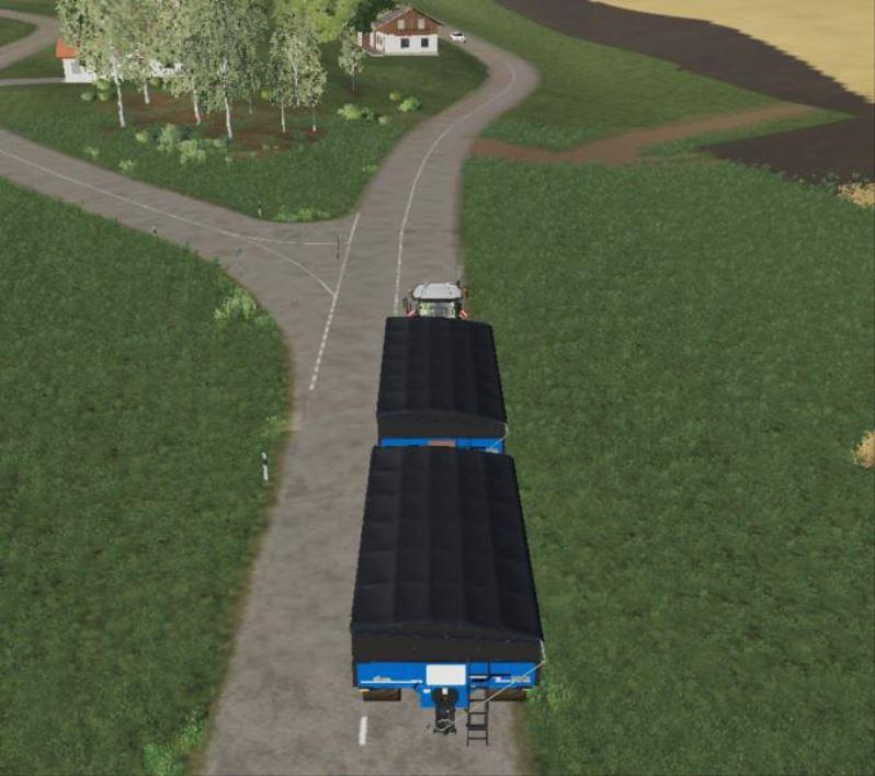 Мод Haul Master with trailer coupling v 1.0 для Farming Simulator 2019