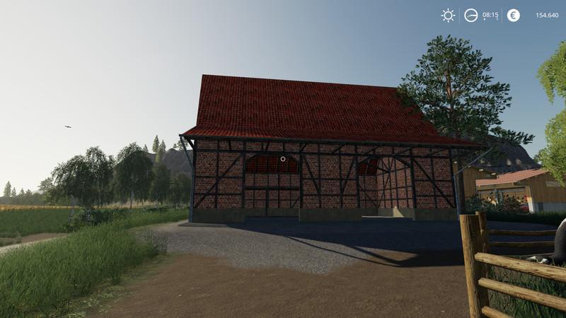 Мод Fachwerscheune LS11 v 1.0 для Farming Simulator 2019