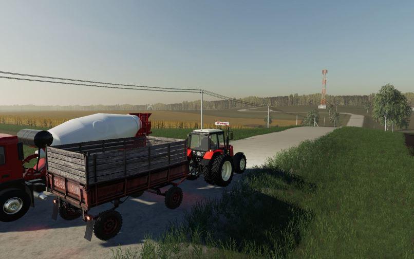 Мод МТЗ-1221 v 1.1 для Farming Simulator 2019