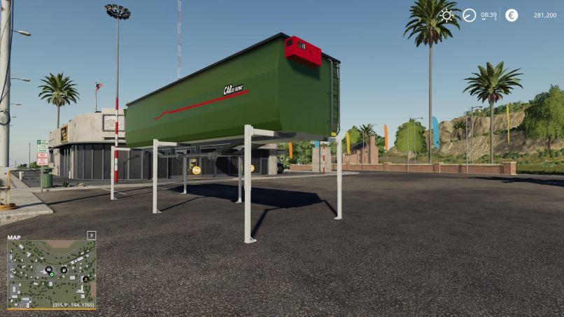 Мод Holmer Grain Tank 595 v 1.0 для Farming Simulator 2019