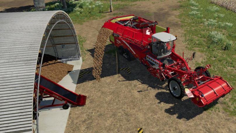 Мод Root Crop Storage v 1.0 для Farming Simulator 2019