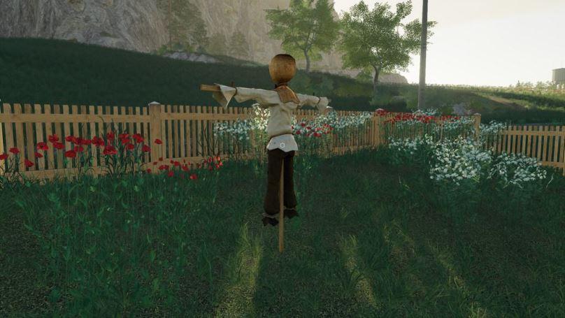 Мод Scarecrow v 1.0 для Farming Simulator 2019