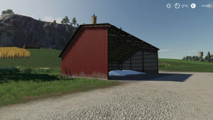 Мод Corrugated Machineshed v 1.0 для Farming Simulator 2019