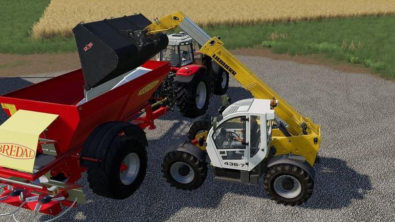 Мод Liebherr TL 436-7 v 1.0 для Farming Simulator 2019