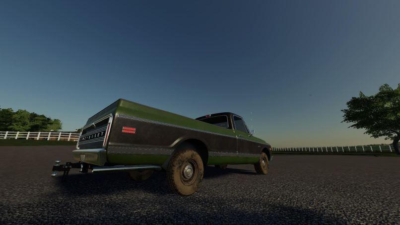 Мод Chevy Long Bed v 1.0 71 для Farming Simulator 2019