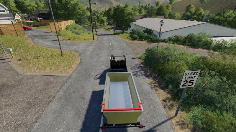 Мод ATV Tipper Trailer v 1.1 для Farming Simulator 2019