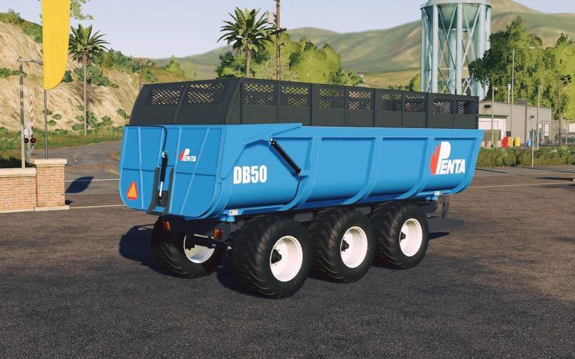 Мод Penta DB 50 trailer v 1.0 для Farming Simulator 2019