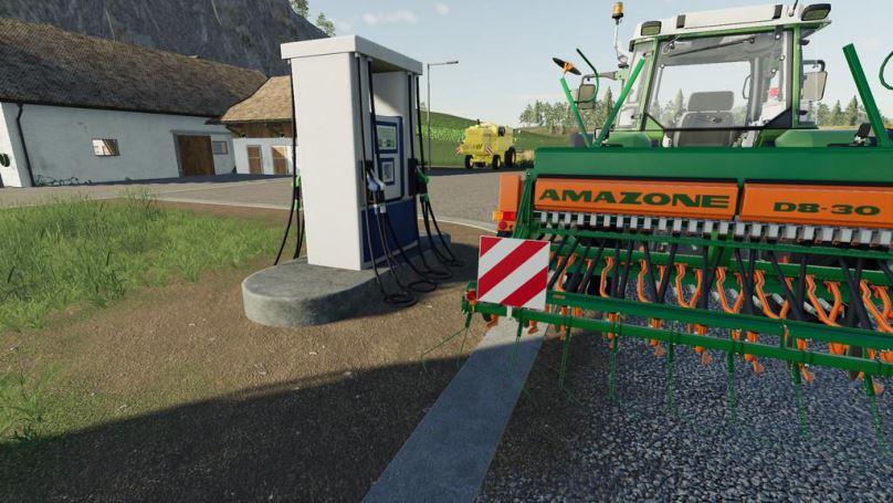 Мод Gas Station v 1.0 для Farming Simulator 2019
