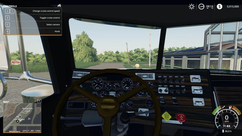 Мод 1987 Peterbilt 379 v 1.3 для Farming Simulator 2019