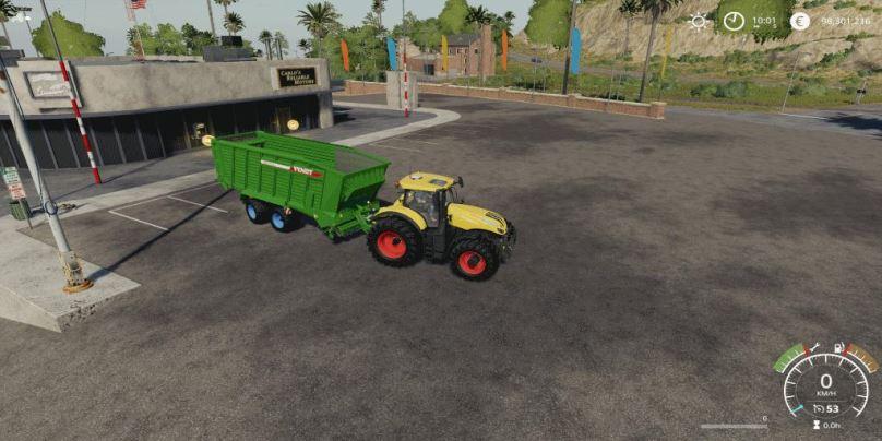 Мод Fendt Tigo Facility v 1.0 для Farming Simulator 2019
