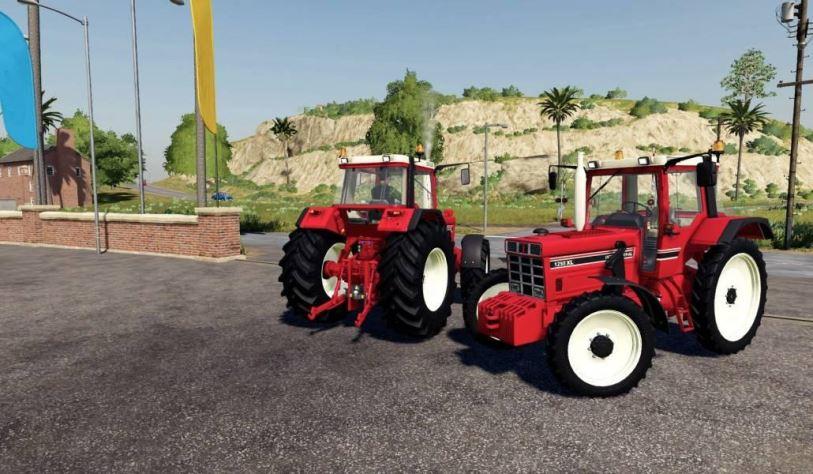 Мод Case IH International 1455 / 1255 v 1.0 для Farming Simulator 2019
