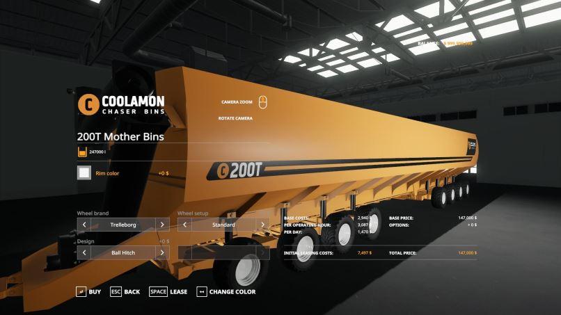 Мод Coolamon Mother Bins v 1.0 для Farming Simulator 2019