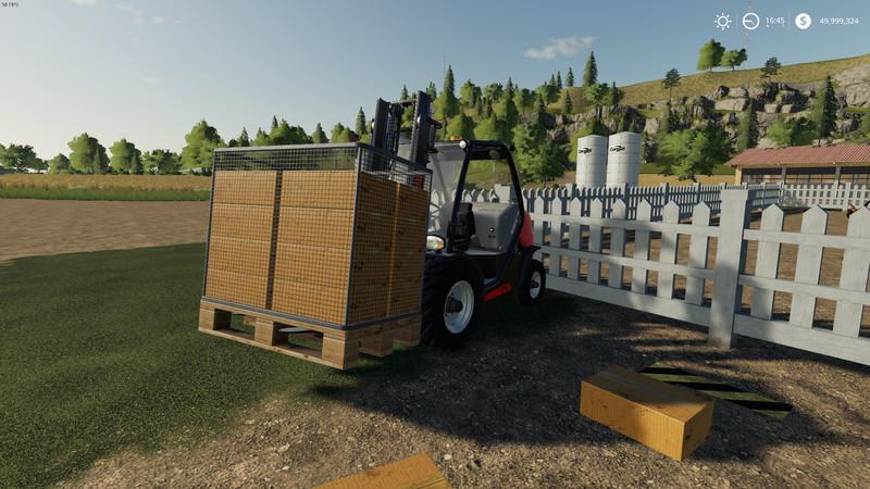 Мод Purchasable Egg Pallet v 1.0 для Farming Simulator 2019